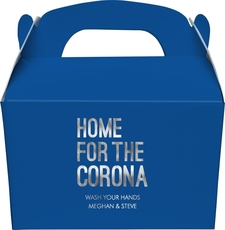 Home For The Corona Large Favor Boxes