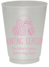 Hunting Season Easter Colored Shatterproof Cups