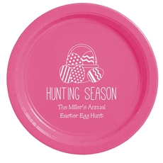 Hunting Season Easter Paper Plates