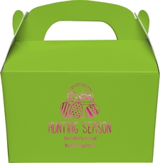 Hunting Season Easter Gable Favor Boxes