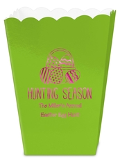 Hunting Season Easter Mini Popcorn Boxes