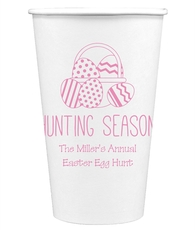 Hunting Season Easter Paper Coffee Cups