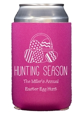 Hunting Season Easter Collapsible Koozies