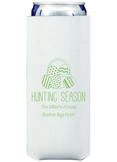 Hunting Season Easter Collapsible Slim Koozies