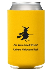 Flying Witch Collapsible Koozies