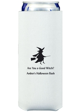 Flying Witch Collapsible Slim Koozies