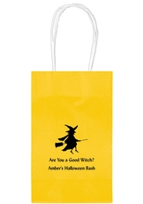 Flying Witch Medium Twisted Handled Bags