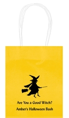 Flying Witch Mini Twisted Handled Bags
