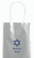 Traditional Star of David Mini Twisted Handled Bags