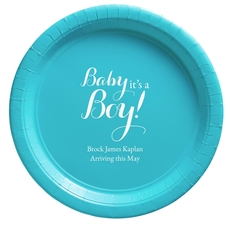 Baby It's A Boy Paper Plates