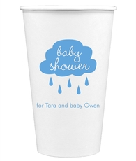 Baby Shower Cloud Paper Coffee Cups