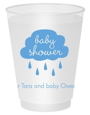 Baby Shower Cloud Shatterproof Cups