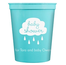 Baby Shower Cloud Stadium Cups
