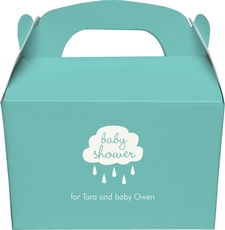 Baby Shower Cloud Gable Favor Boxes