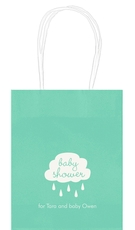 Baby Shower Cloud Mini Twisted Handled Bags
