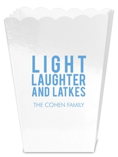 Light Laughter And Latkes Mini Popcorn Boxes