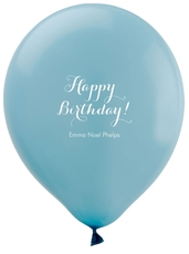 Darling Happy Birthday Latex Balloons