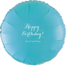 Darling Happy Birthday Mylar Balloons