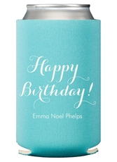 Darling Happy Birthday Collapsible Koozies