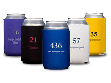 Design Your Own Big Number Collapsible Koozies
