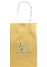 Confetti Dots Our Love Medium Twisted Handled Bags