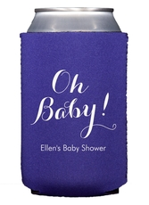 Elegant Oh Baby Collapsible Koozies
