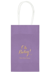 Elegant Oh Baby Medium Twisted Handled Bags