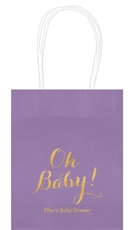 Elegant Oh Baby Mini Twisted Handled Bags