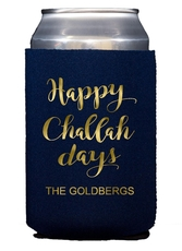 Happy Challah Days Collapsible Koozies