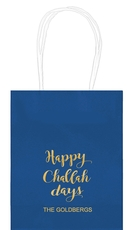 Happy Challah Days Mini Twisted Handled Bags