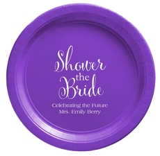 Shower The Bride Paper Plates