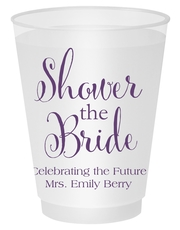 Shower The Bride Shatterproof Cups