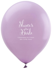 Shower The Bride Latex Balloons