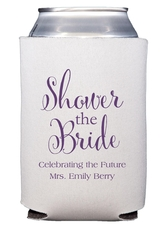 Shower The Bride Collapsible Koozies