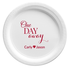 One Day Away Paper Plates