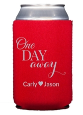 One Day Away Collapsible Koozies