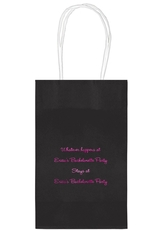 Whatever Happens Party Medium Twisted Handled Bags