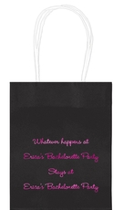 Whatever Happens Party Mini Twisted Handled Bags