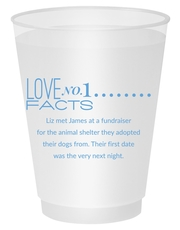 Just the Love Facts Shatterproof Cups