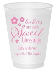 Sweet Blessings Shatterproof Cups