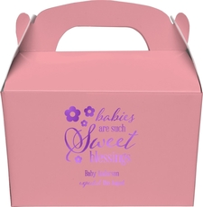 Sweet Blessings Gable Favor Boxes