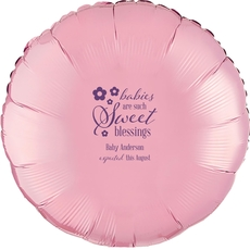 Sweet Blessings Mylar Balloons