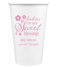 Sweet Blessings Paper Coffee Cups