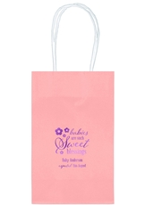 Sweet Blessings Medium Twisted Handled Bags