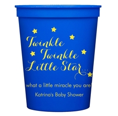 Twinkle Twinkle Little Star Stadium Cups