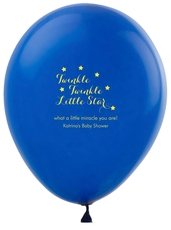 Twinkle Twinkle Little Star Latex Balloons