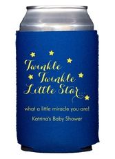 Twinkle Twinkle Little Star Collapsible Koozies