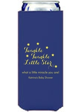 Twinkle Twinkle Little Star Collapsible Slim Koozies
