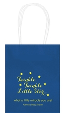 Twinkle Twinkle Little Star Mini Twisted Handled Bags