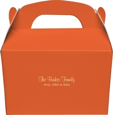 The Northshore Gable Favor Boxes